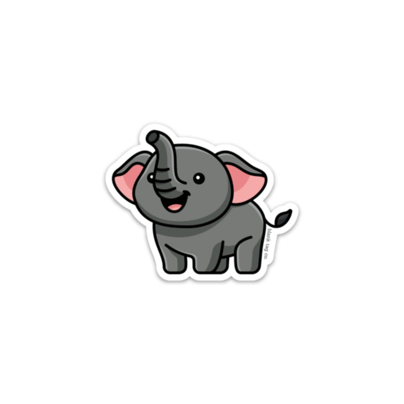 The Elephant Sticker
