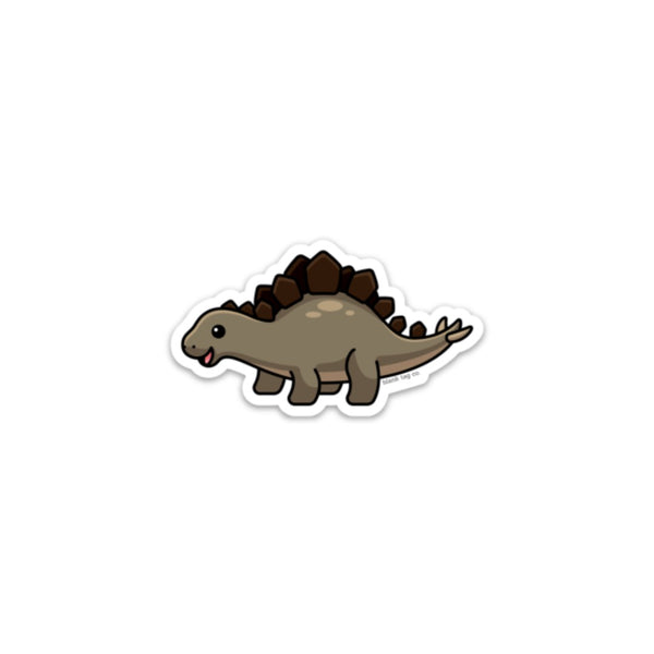 The Stegosaurus Sticker