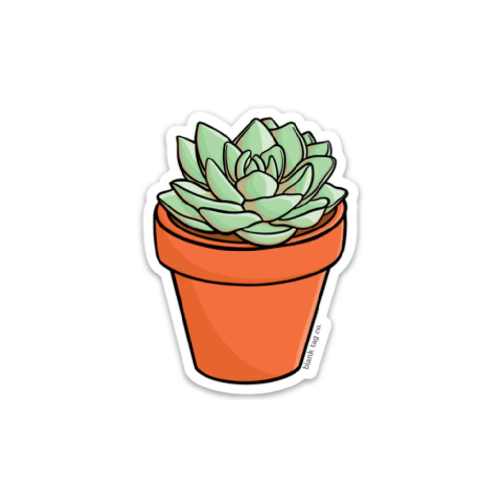 The Succulent Sticker  U2014 Blank Tag Co