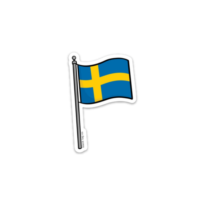 The Sweden Flag Sticker