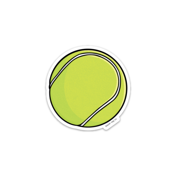 The Tennis Ball Sticker