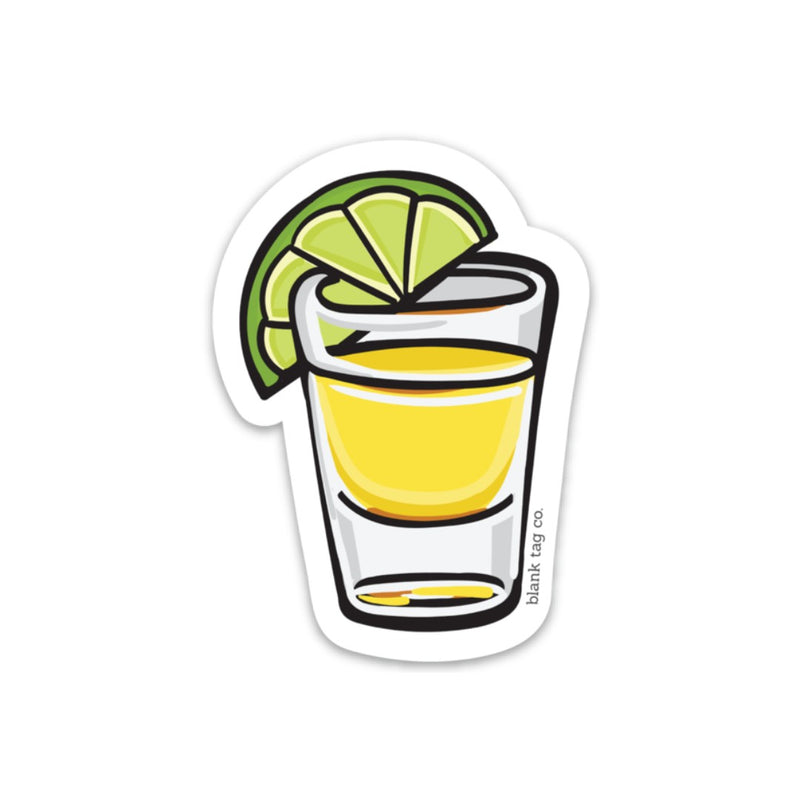 The Tequila Shot Sticker