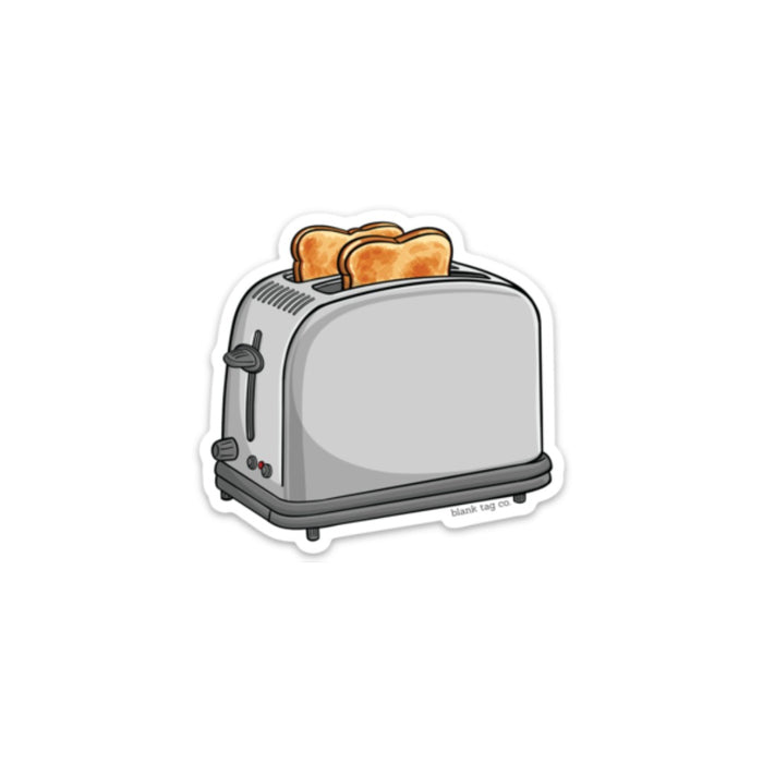 The Toaster Sticker