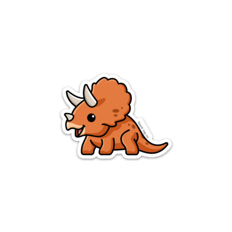 The Triceratops Sticker