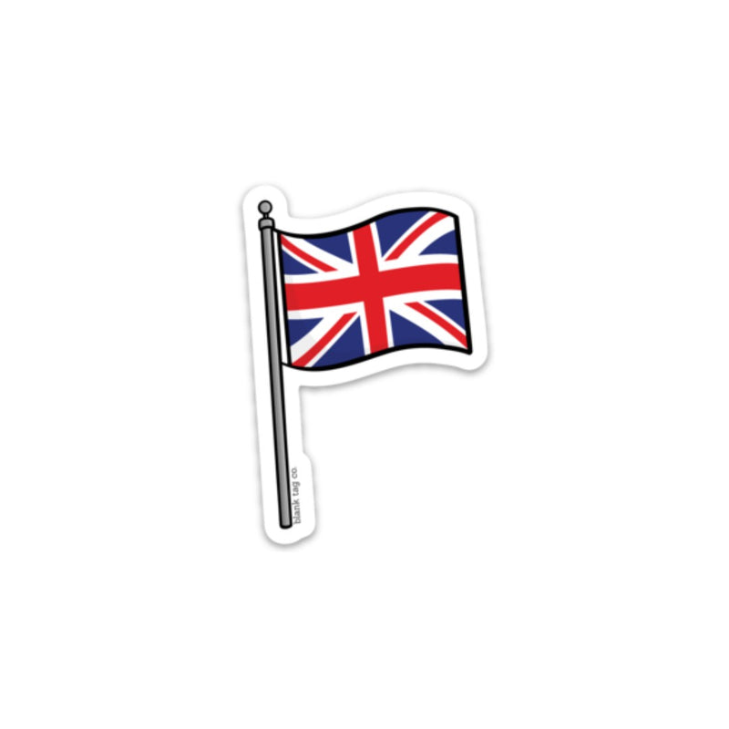 The United Kingdom Flag Sticker