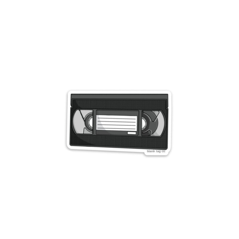 The VHS Tape Sticker
