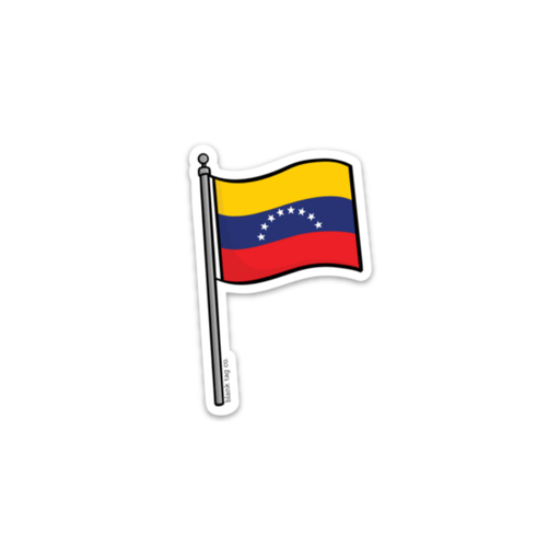 The Venezuela Flag Sticker