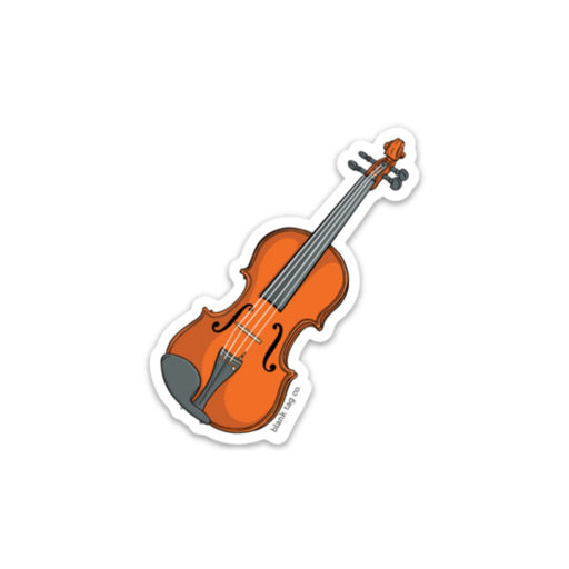 The Violin Sticker