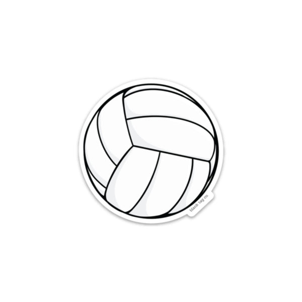The Volleyball Sticker