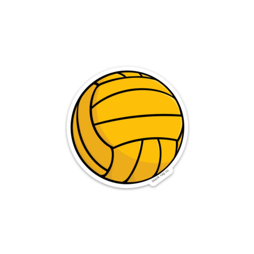 The Water Polo Ball Sticker