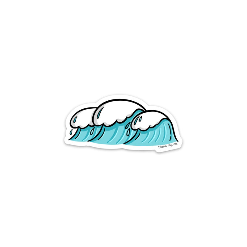The Waves Sticker