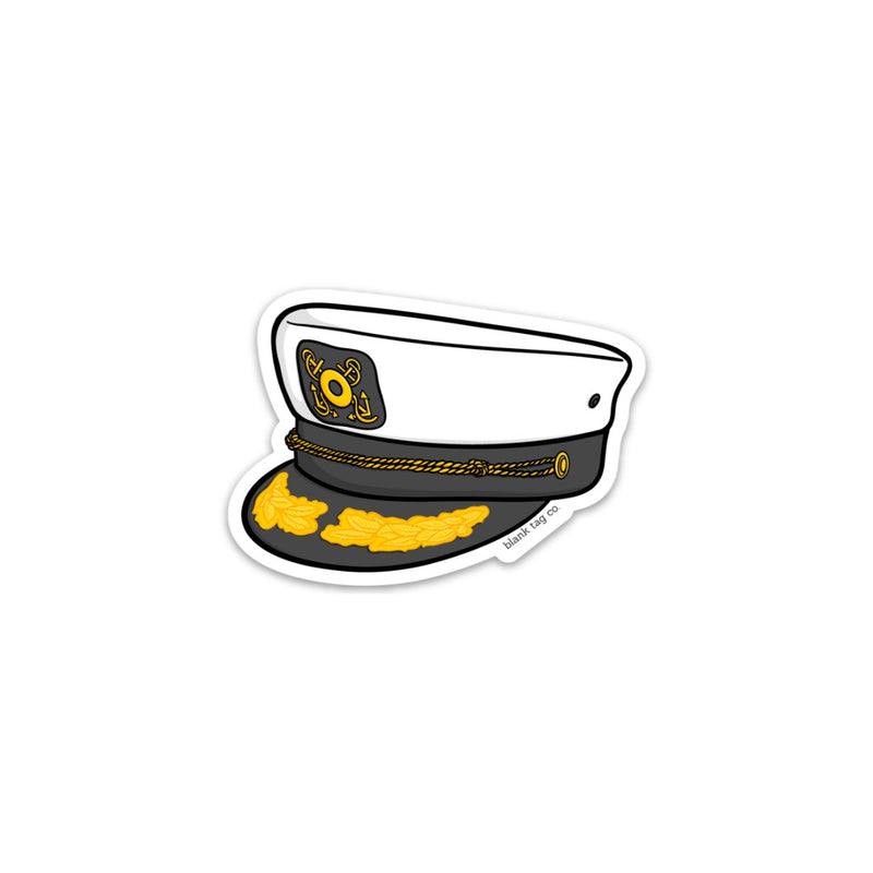 The Yacht Cap Sticker