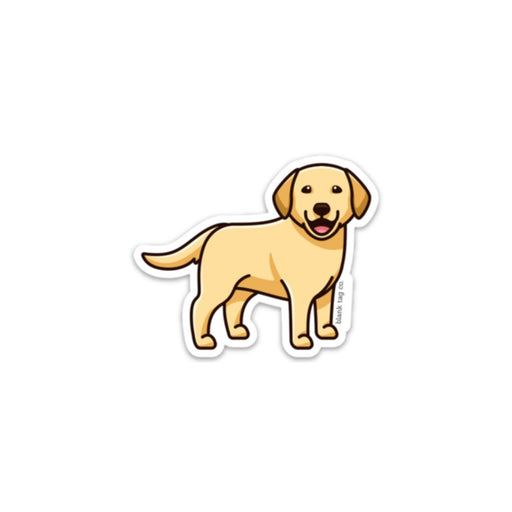 The Yellow Labrador Retriever Sticker