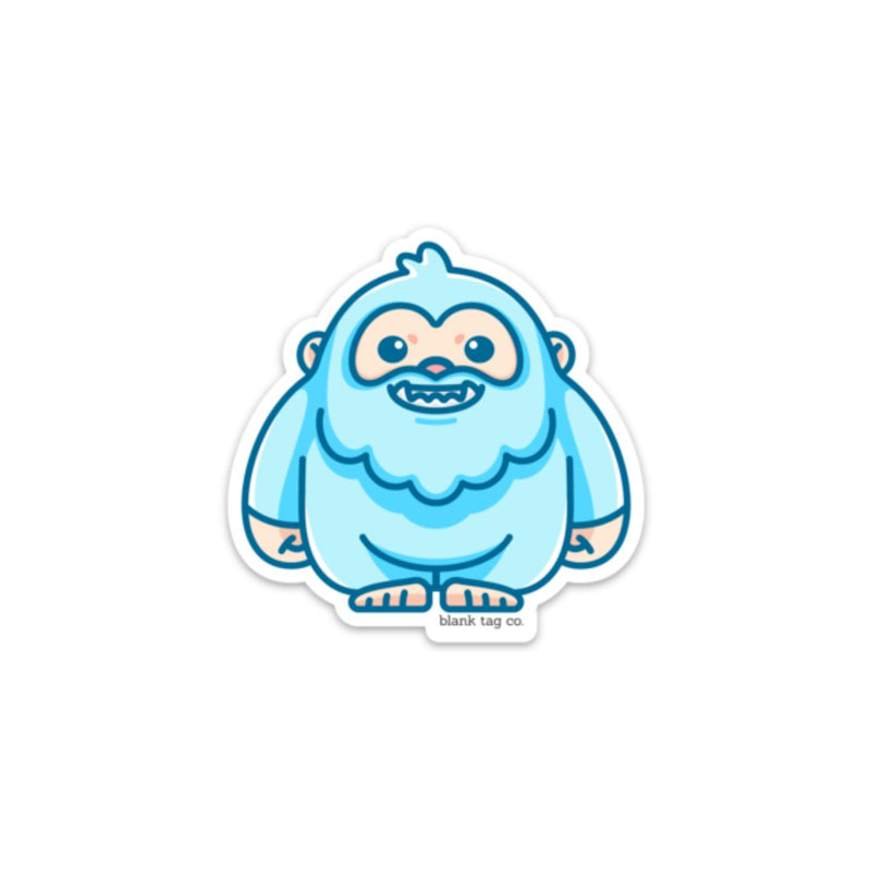 The Yeti Sticker