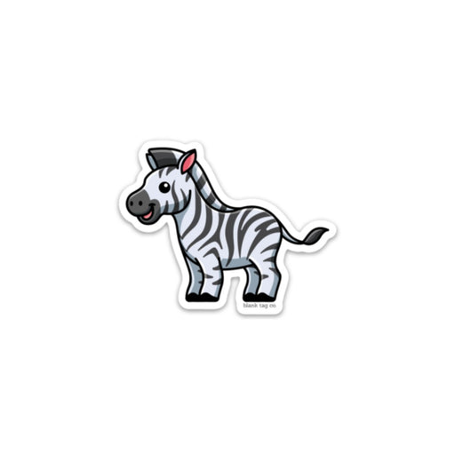 The Zebra Sticker
