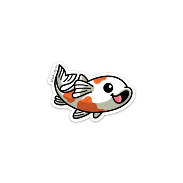 The Koi Fish Sticker