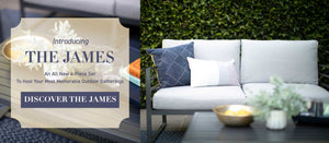 Introducing The James outdoor patio set.