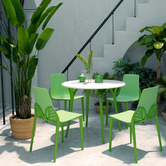 chloe green dining set