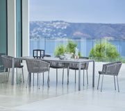 Moments Soft Rope Dining Chair with Sunbrella© Cushion