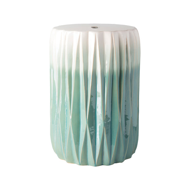 Aynor Garden Stool in Aqua