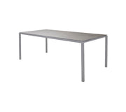 Aluminum Modern Dining Table