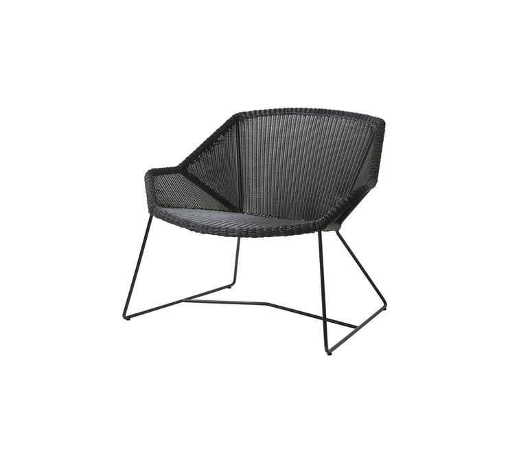 Breeze Cane-line Weave Lounge Chair with Sunbrella© Cushion