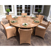 7 Piece Drop Leaf Dining Set