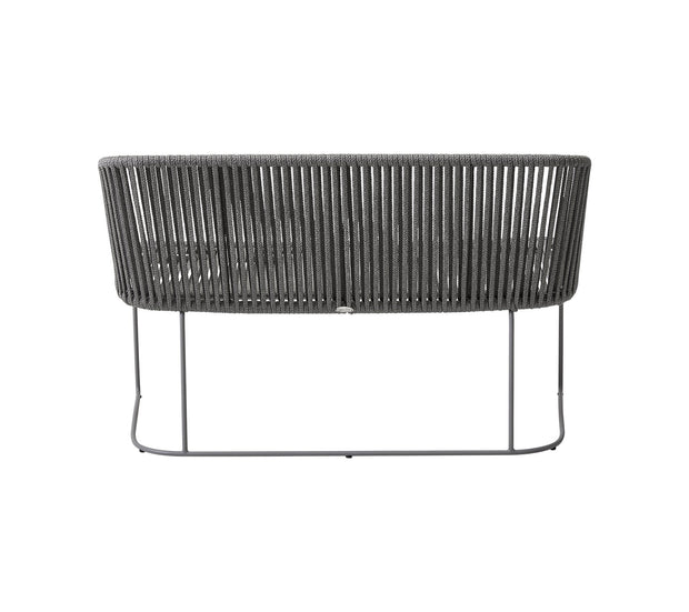 Moments Dining Bench in Cane-line Soft Rope