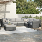 6-Piece Corner Sectional (Sloped Arms)