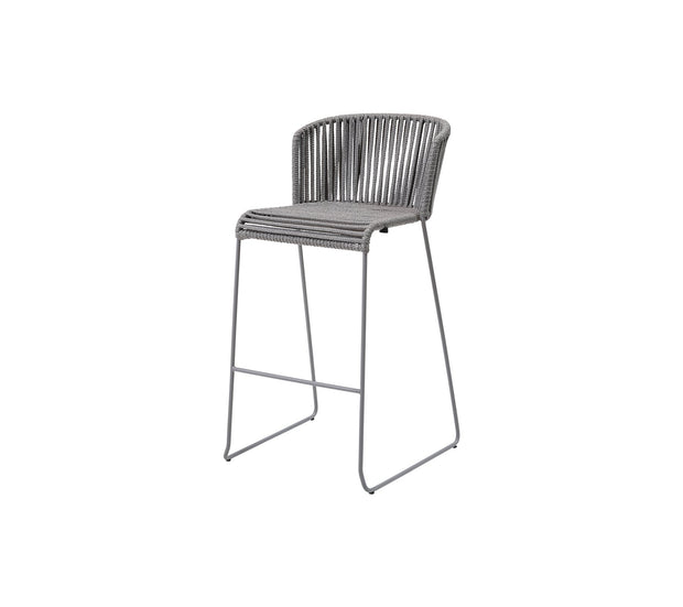 Moments Bar Chair in Cane-line Soft Rope