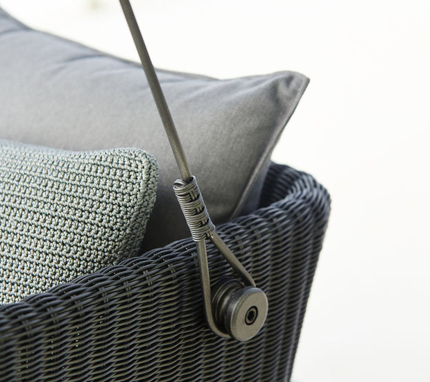 Cave Cane-line Weave Swing Sofa