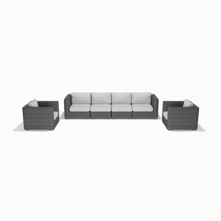 6-Piece Sofa and Club Chair Set