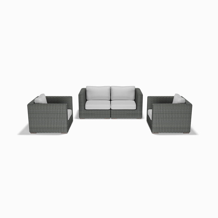 4-Piece Loveseat and Club Chair Set