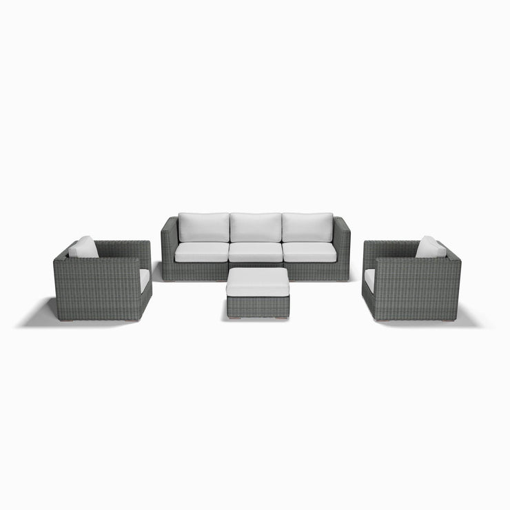 6-Piece Sofa, Club Chair, and Ottoman Set
