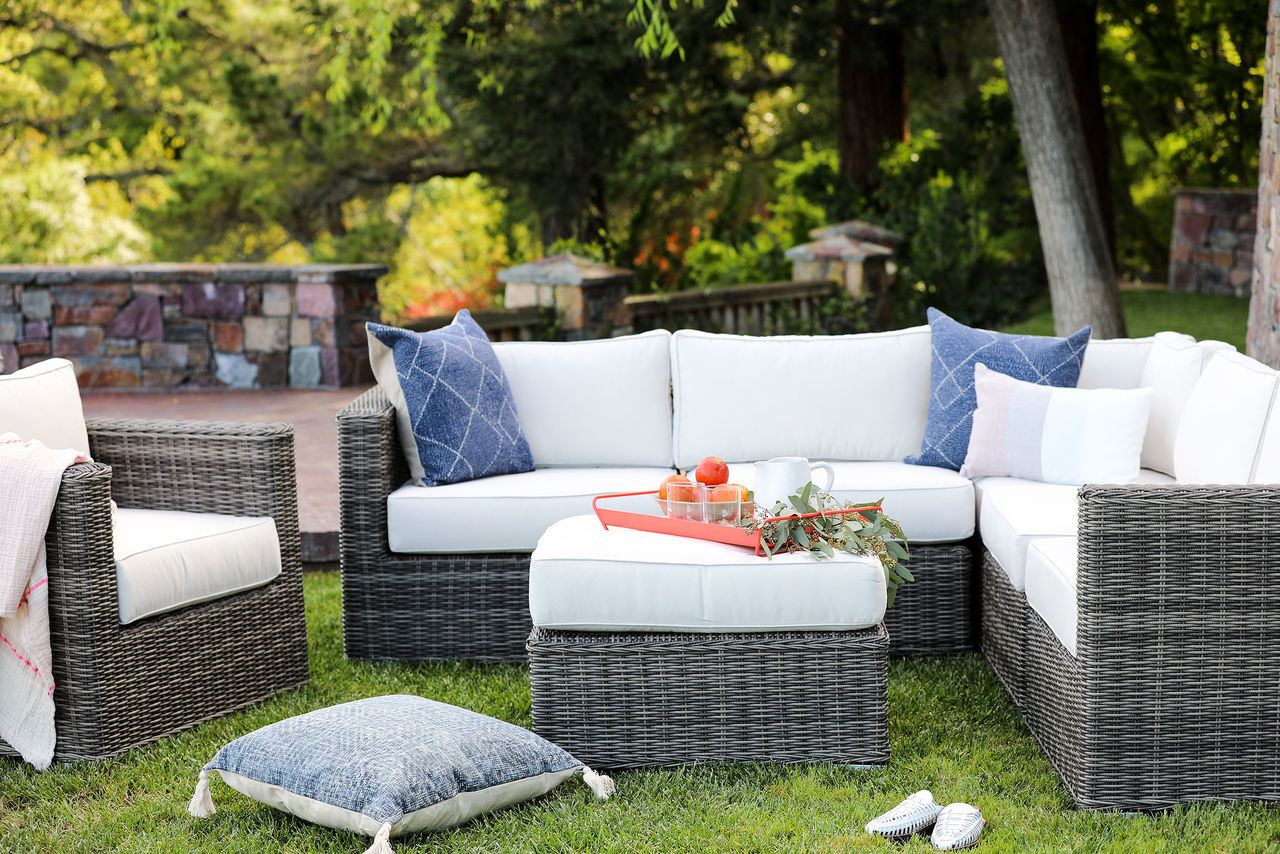 Ajna Living The New Standard Outdoor Sectional 7 Piece Set