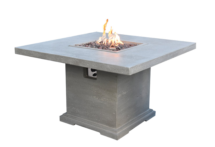 Birmingham Dining Table with Fire