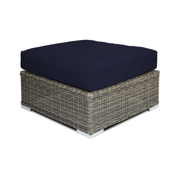 Ottoman Footstool with Sunbrella© Cushion