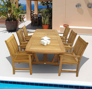 "Gala 64"" Teak Dining Table"
