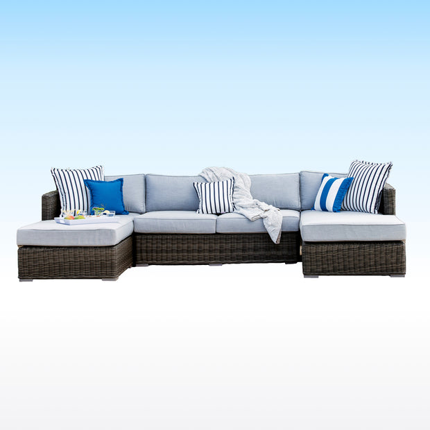 The LUX U-Shaped Sunbrella Sectional