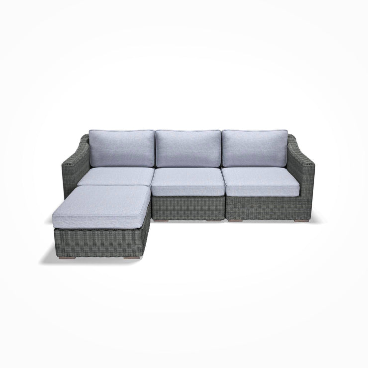 Chaise Sofa (Sloped Arms)