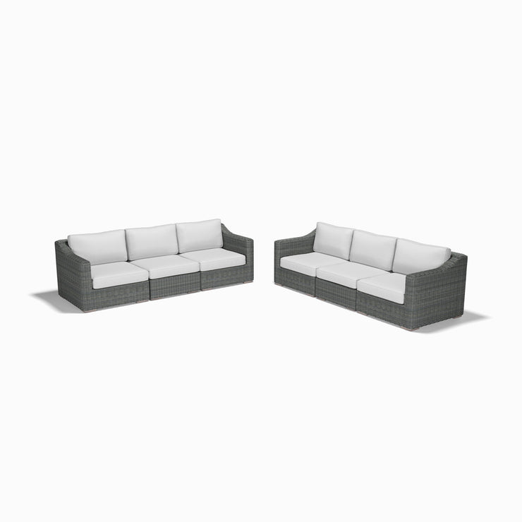 3-Seat Sofa Set (Sloped Arms)