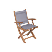 SailMate Teak Folding Dining Chair