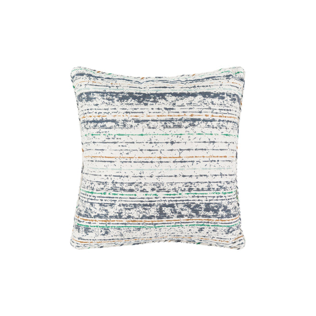 Arie Sunbrella Throw Pillow in Summer Blues