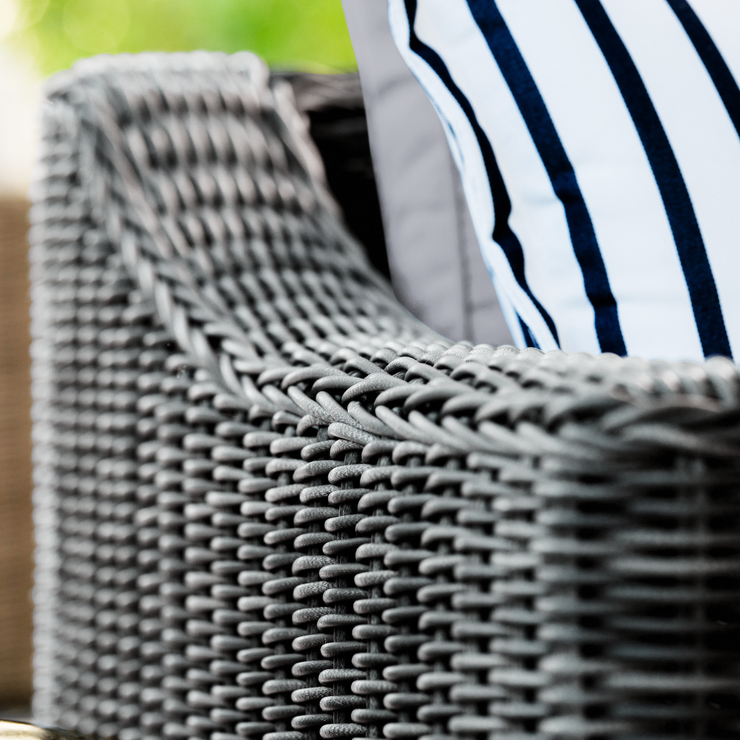 Villa Club Chair, All-Weather Wicker with Sunbrella Cushions