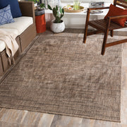 Laguna Outdoor Rug in Natural Brown