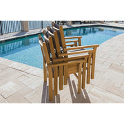 Captiva Stackable Teak Dining Chair