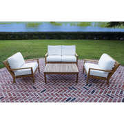 Coastal 4-Piece Loveseat Set