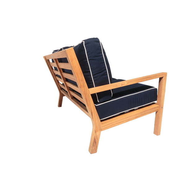 Coastal Teak Loveseat