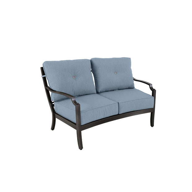 Aragon Curved Loveseat