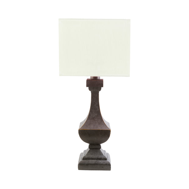 Davis Table Lamp in White